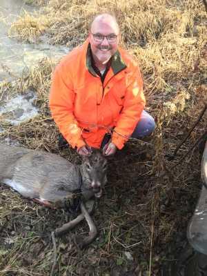 First buck harvest
